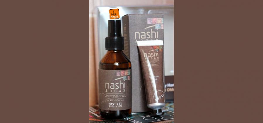 Diverse Nashi Argan haarproducten